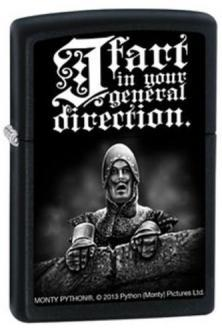 Zippo Monty Python - I Fart In Your General 2753 lighter