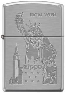 Zippo New York 4144 lighter