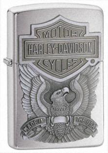 Zippo HD Made In Usa Emblem 200HD H284 lighter