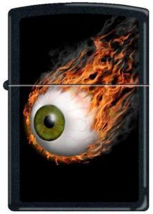 Zippo Flaming Eyeball 2912 lighter