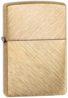 Zippo Herringbone Sweep Brass 29830 lighter