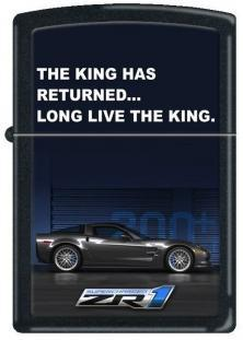 Zippo Corvette Long Live The King ZR1 1276 lighter