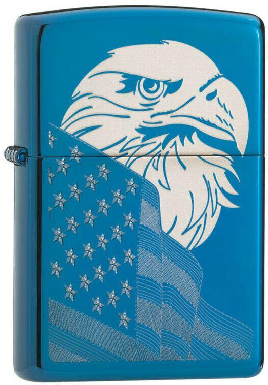 Zippo Eagle and Flag 29882 lighter