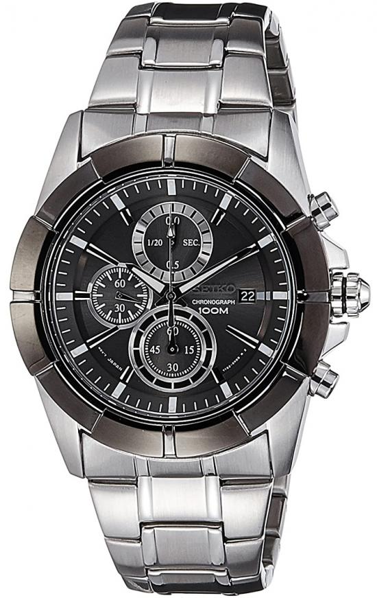 Seiko SNDE69P1 Lord Chronograph watch