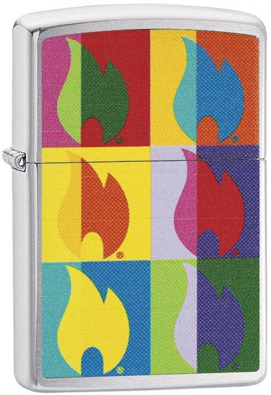 Zippo Abstract Flame 29623 lighter