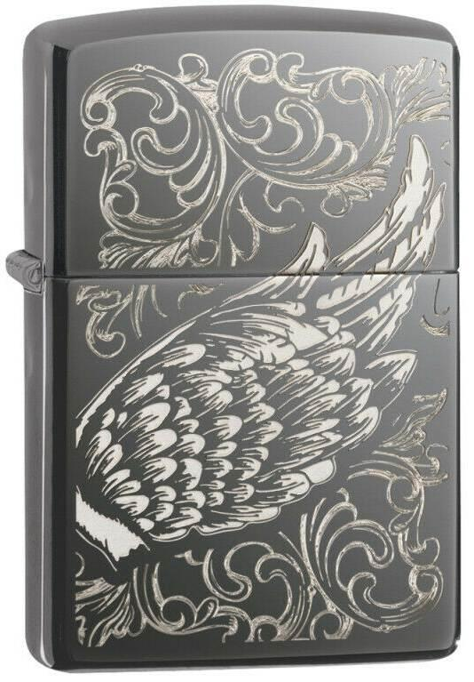 Zippo Filigree Flame and Wing 29881 lighter