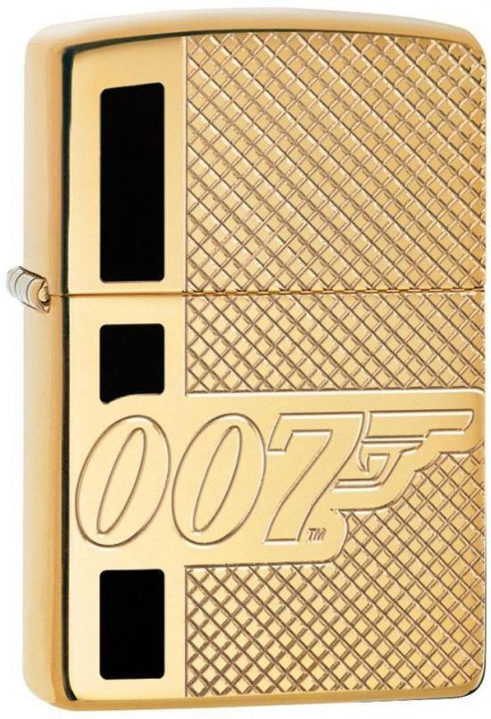 Zippo James Bond 007 Armor Brass 29860 lighter