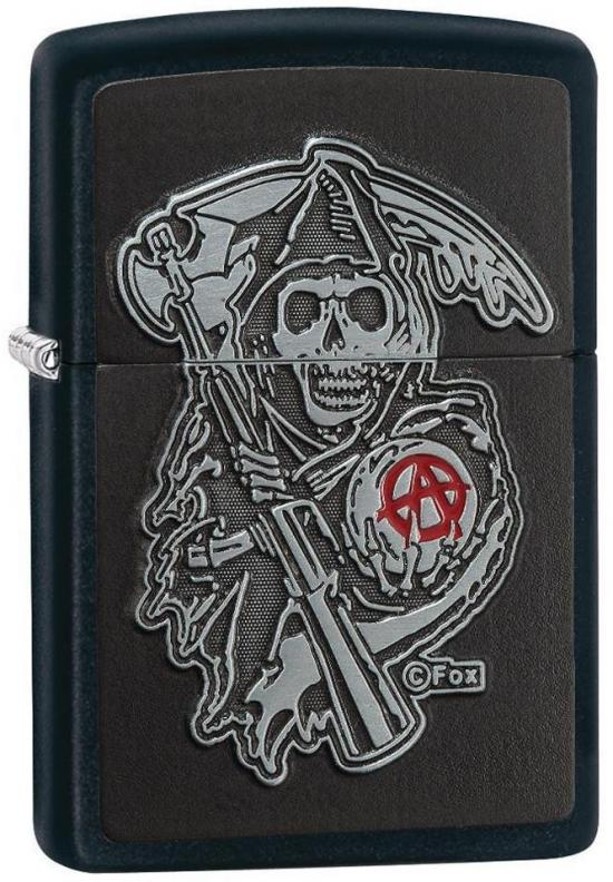 Zippo 29489 Sons Of Anarchy lighter