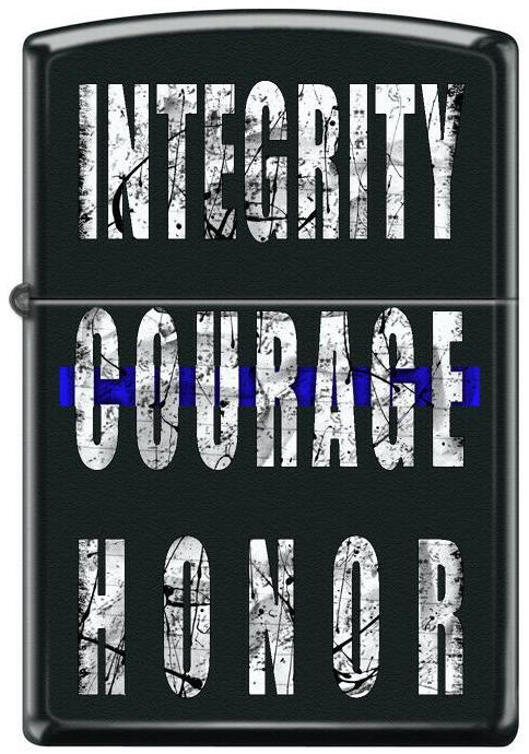 Zippo Integrity Courage Honor 4954 lighter