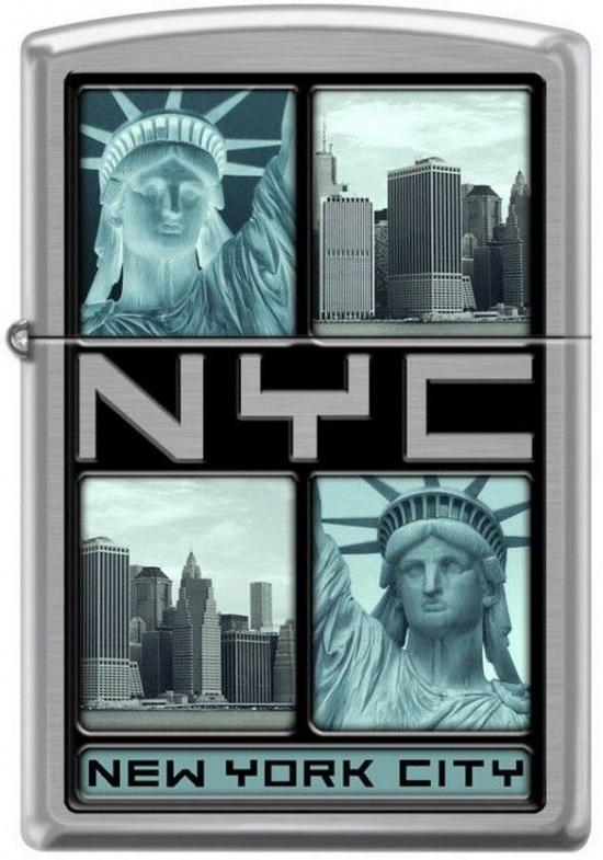 Zippo Statue of Liberty New York 8936 lighter