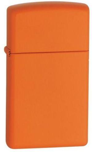 Zippo Orange Matte Slim 1631 lighter