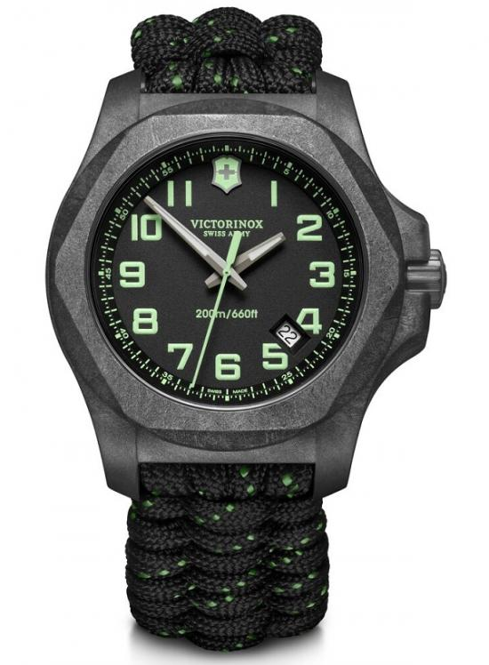 Victorinox INOX 241859 Carbon Paracord watch