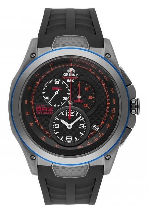 Orient SKT00003B Speedtech Subaru BRZ GT300 Limited Edition  watch