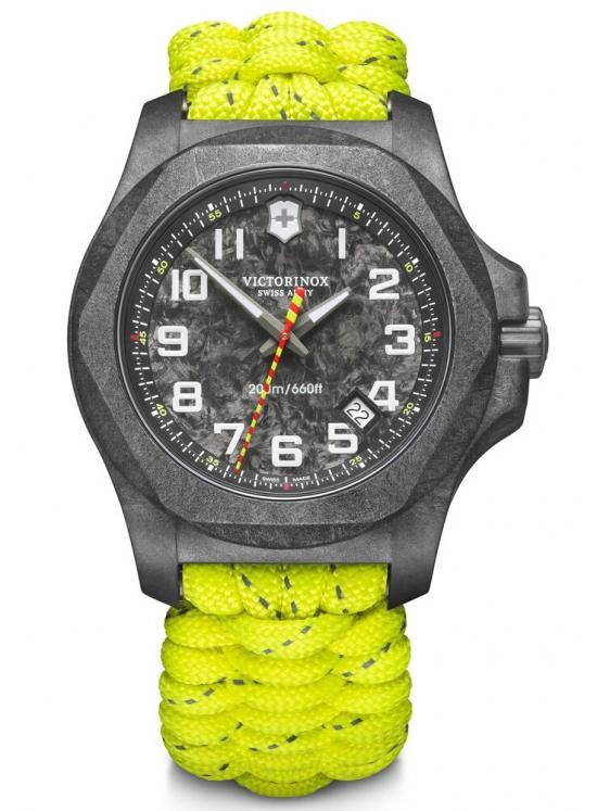 Victorinox INOX 241858.1 Carbon Paracord Limited Edition Firefighter watch