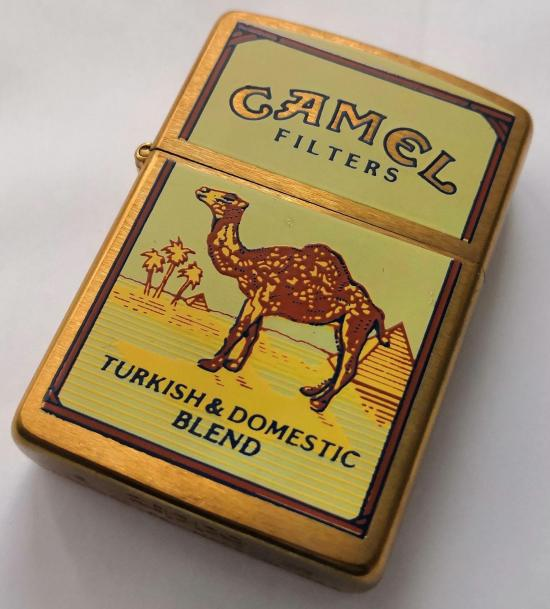 Zippo Camel Turkish Domestic Blend Brass lighter