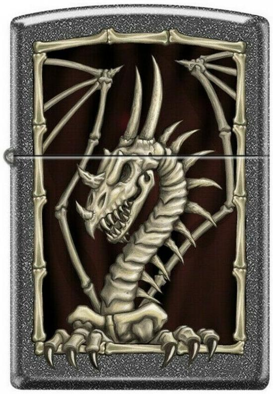 Zippo Dragon Skeleton 7955 lighter
