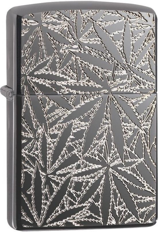 Zippo Cannabis Leaves 29834 lighter