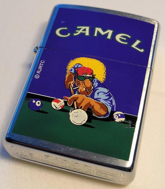 Zippo Camel Joe Pool 1998 lighter